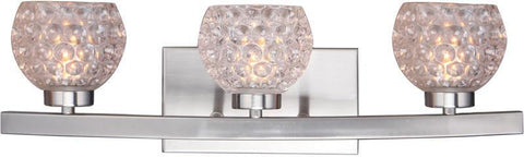 Woodbridge Lighting 16353STN-C00510 Charlotte 3-light Bath