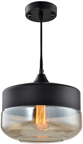 Woodbridge Lighting 16523BLK-C110K3 Fuse Pendant, Black - PeazzLighting