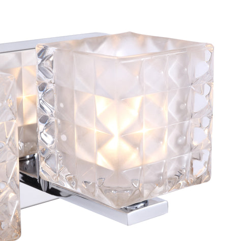 Woodbridge Lighting 17353CHR-C80410 Claudia 3-light Bath