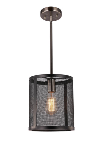 Woodbridge Lighting 18023BAN-ST64 Drake Mid-pendant w/ ST64 Bulb