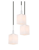 Woodbridge Lighting 18425CHR-C80401 Langston 5-light Cluster Pendant