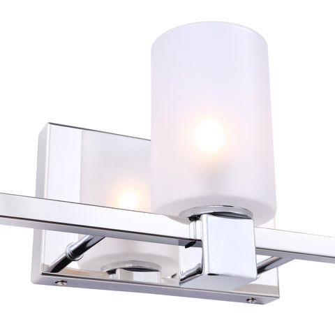 Woodbridge Lighting 18453CHR-C10455 Langston 3-light Bath