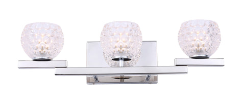 Woodbridge Lighting 18553CHR-C00510 Jewel 3-light Bath