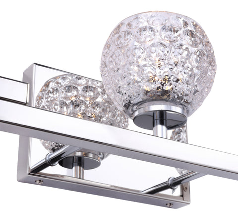 Woodbridge Lighting 18553CHR-C00514 Jewel 3-light Bath