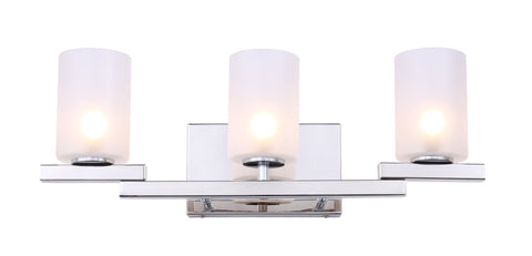 Woodbridge Lighting 18553CHR-C10455 Jewel 3-light Bath