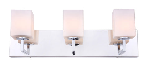 Woodbridge Lighting 18653CHR-C80401 Candice 3-light Bath
