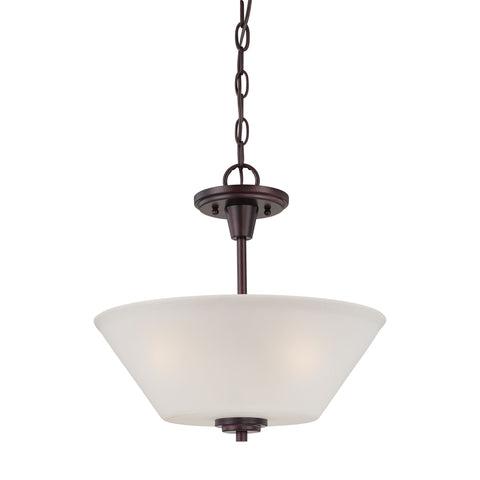 Thomas Lighting 190043719 Pittman Collection Sienna Bronze Finish Transitional Pendant