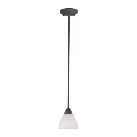 Thomas Lighting 190056763 Tia Collection Painted Bronze Finish Transitional Pendant