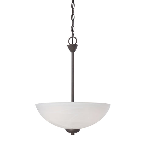 Thomas Lighting 190058763 Tia Collection Painted Bronze Finish Transitional Pendant