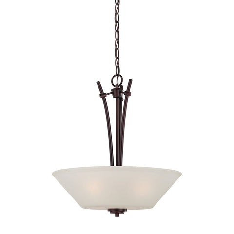 Thomas Lighting 190061719 Pittman Collection Sienna Bronze Finish Transitional Pendant