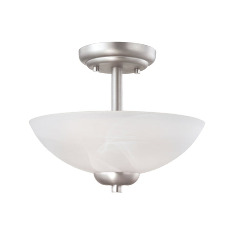 Thomas Lighting 190067117 Tia Collection Matte Nickel Finish Transitional Pendant