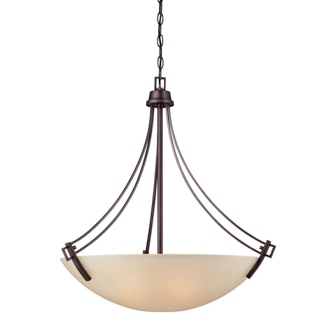 Thomas Lighting 190112704 Wright Collection Espresso Finish Traditional Pendant