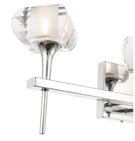 Woodbridge Lighting 20453CHR-C00420 Christina 3-light Bath