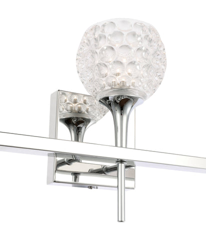 Woodbridge Lighting 20853CHR-C00510 Bristol 3-light Bath