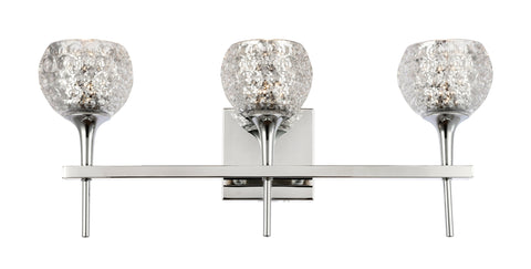 Woodbridge Lighting 20853CHR-C00514 Bristol 3-light Bath