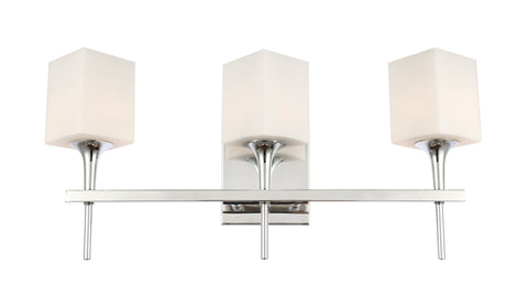 Woodbridge Lighting 20953CHR-C80401 Chelsea 3-light Bath
