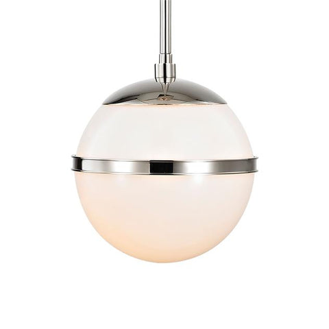 Brian Patrick Flynn for Crystorama Truax 1 Light Polished Nickel Mini Chandelier