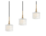 Woodbridge Lighting 21129CBZ-C80415 Regent Park 5-light Linear Pendant