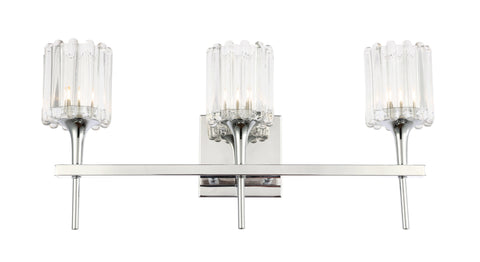 Woodbridge Lighting 21153CHR-C10490 Regent Park 3-light Bath