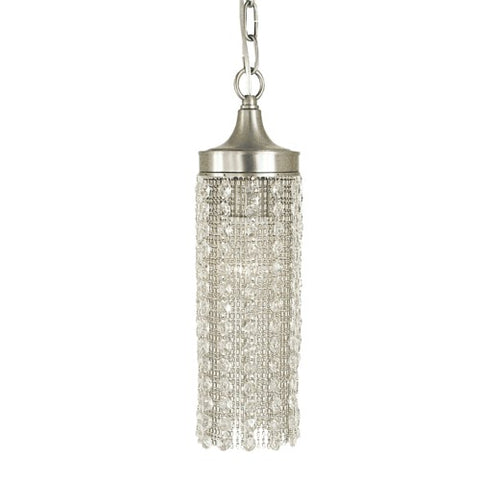 Framburg 2951-BN 1-Light Brushed Nickel Penelope Pendant