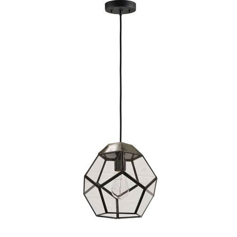 Renwil Pherix Pendant in Antique Zinc