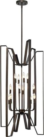 Z-Lite 4000-12BRZ 12 Light Pendant Marsala Collection - ZLiteStore