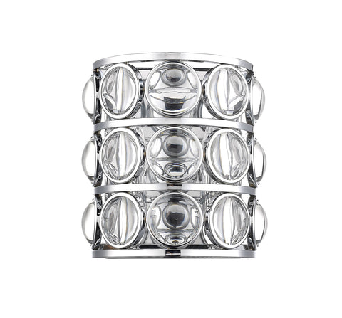 Z-Lite 4004-2S-CH Eternity Collection 2 Light Wall Sconce Chrome Finish