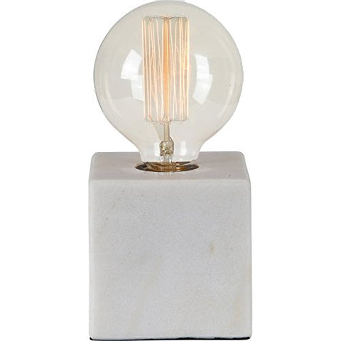 Renwil Modern Glamour Willoughby Table Lamp in White