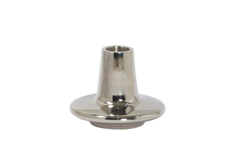 Ren-Wil CAN148 Deale Candle Holder, Small, Nickel
