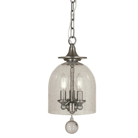 Framburg 4351-BN 3-Light Brushed Nickel Hannover Pendant