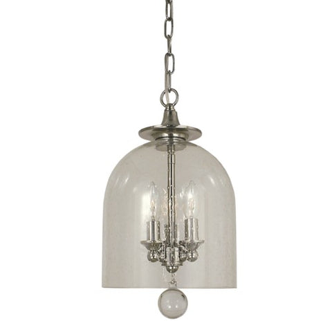 Framburg 4353-PN 3-Light Polished Nickel Hannover Pendant
