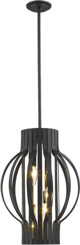 Z-Lite 436-16BRZ 4 Light Pendant Moundou Collection - ZLiteStore