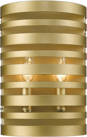 Z-Lite 441-2S-SG 2 Light Wall Sconce Memphis Collection - ZLiteStore