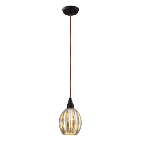 ELK Lighting 46007/1 Danica Collection Oiled Bronze Finish - PeazzLighting