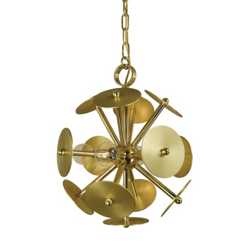 Framburg 4974-pn/sp 4-light Polished Nickel/satin Pewter ...