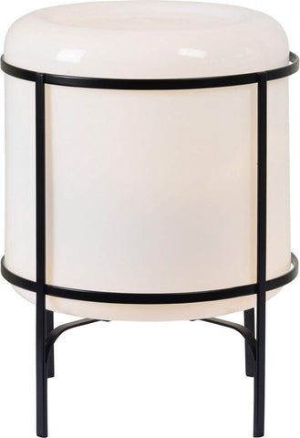 Renwil Modern Glamour Finley Table Lamp in Cream and Black