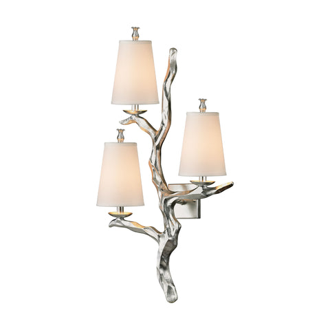 ELK Lighting 55004/3 Sprig Collection Silver Leaf Finish - PeazzLighting