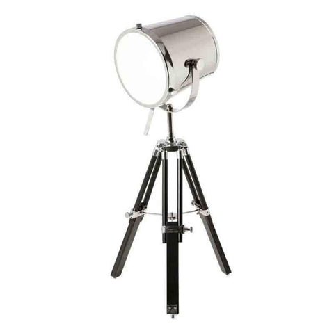 Dainolite 5552T-PC Tripod Spotlight Table Lamp