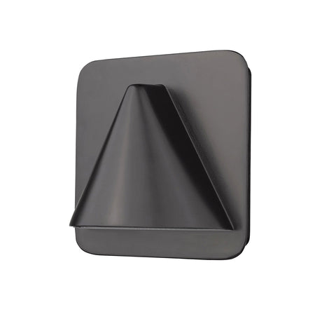 Z-Lite 578ORBZ-LED Obelisk Collection 1 Light Outdoor Wall Sconce Outdoor Rubbed Bronze Finish