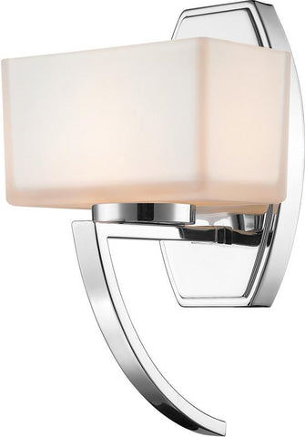 Z-Lite 614-1SCH 1 Light Wall Sconce Cardine Collection Matte Opal Finish - ZLiteStore