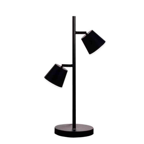 Dainolite 624LEDT-BK 2LT LED Table Lamp, BK