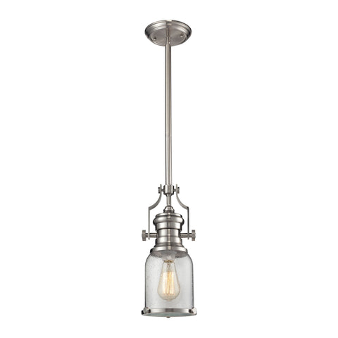 ELK Lighting 67742-1 Chadwick Collection Satin Nickel Finish - PeazzLighting