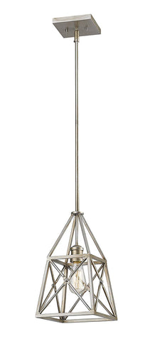Z-Lite 447MP-AS 1 Light Mini Pendant 1