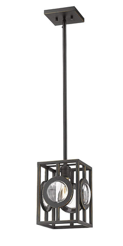 Z-Lite 448MP-OB 1 Light Mini Pendant 1