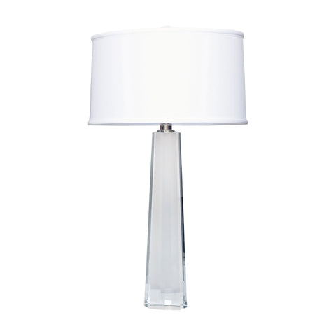 Lamp Works LAM-729 Crystal Collection Clear Finish Table Lamp