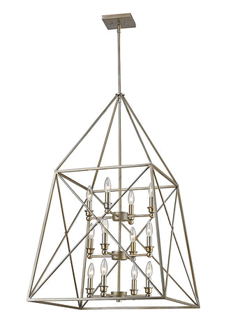 Z-Lite 447-12AS 12 Light Pendant
