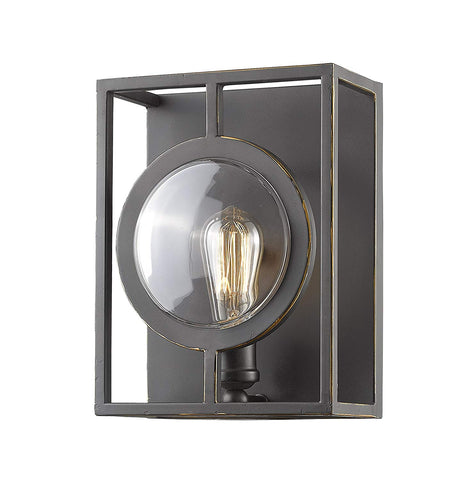 Z-Lite 448-1S-B-OB 1 Light Wall Sconce 1