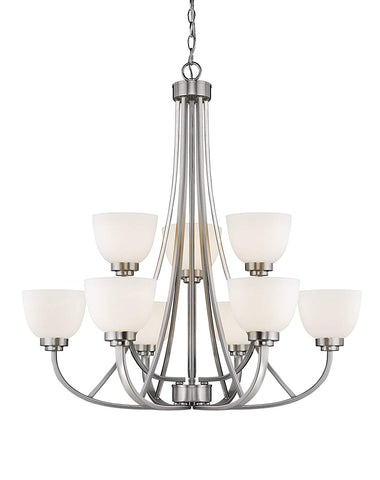 Z-Lite 443-9-BN 9 Light Chandelier 9