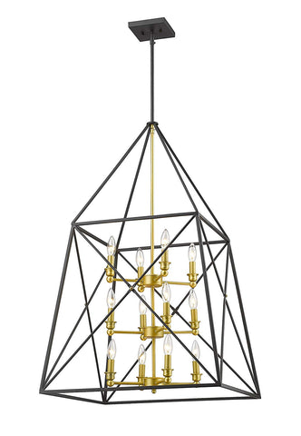 Z-Lite 447-12BZGD 12 Light Pendant