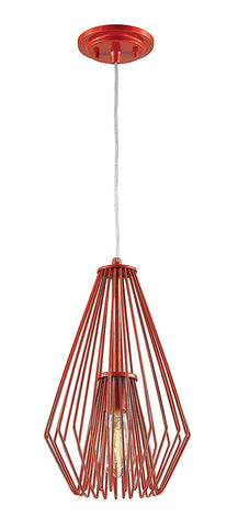 Z-Lite 442MP-RD 1 Light Mini Pendant 1